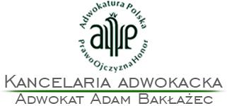 Kancelaria Adwokacka Adam Bakłażec Sosnowiec